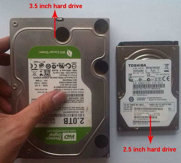 Desktop and laptop hard drive