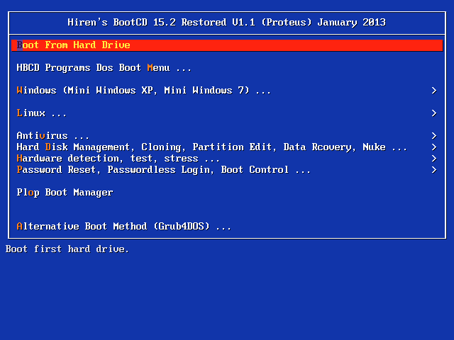 Hiren's Boot DVD 15_2 Restored Edition 1_1 January 2013_rasekhoon_net Proteus